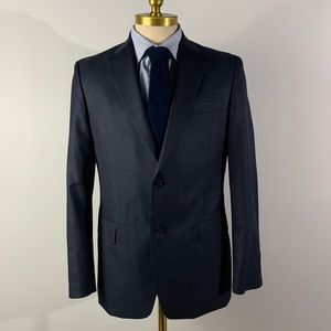 Tommy Hilfiger Suit - Baby Blue Wool Mens 40R 36